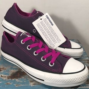 NEW Converse Purple All Star Tennis Shoes Size 5